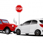 cars in accident