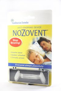 noZovent snore device box